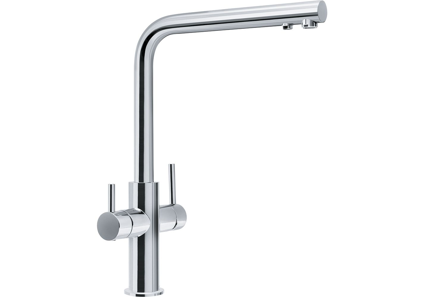 Tap Neptune Style Spout 2HM HP chrome
